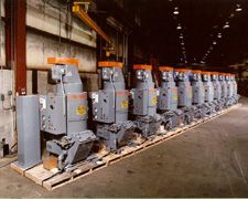 Un-Wash Model UC-20s lined up for shipment to large aircraft manufacturer