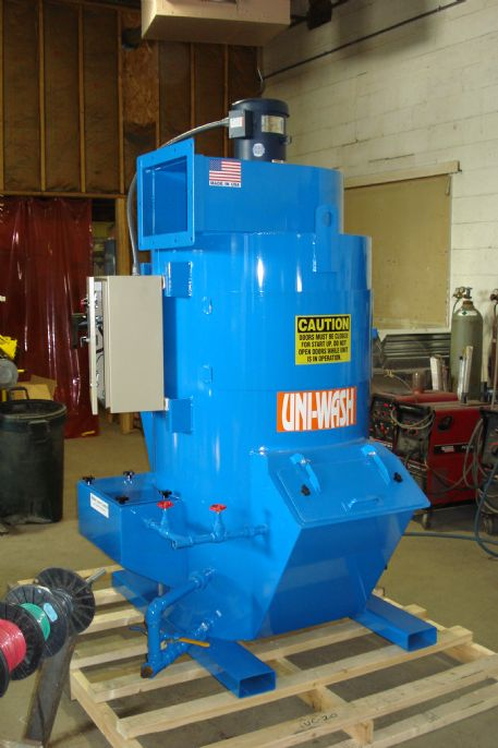 Uni-Wash Model UC-20, 2,000 CFM