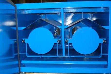 WDT-3500 Internal Filter Racking with Diverter Plates