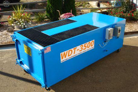 WDT-3500 Portable Downdraft, Walk-Around Bench - 3500 CFM, 350+ Feet/Min Deck Velocity