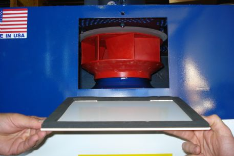 Great shot of the Injection Molded GRP Polyamide Impeller - non-corroding, stronger than steel!