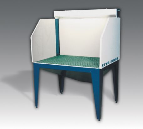 Downdraft Tables Grinding Dust utilized in conjunction with most major brands of properly sized dust ...