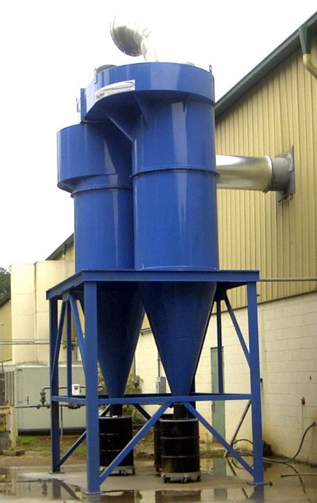 Provent 4 Vortex Dual Cyclone Dust Collector