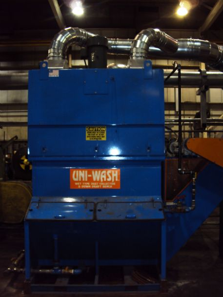 UC-40, 4,000 CFM Wet Collector - on-line