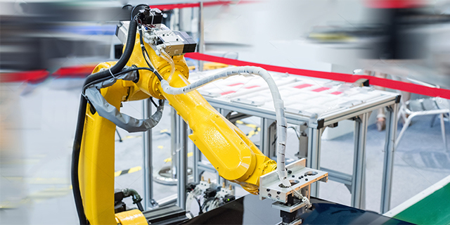 Robotic work cell dust problem