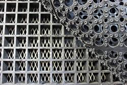 Deck Materials - Rubber Mat, Fiber Decking, Tool Screen
