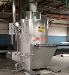 Stainless Steel Dust Collector Option