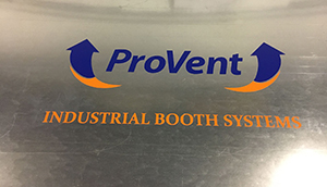 ProVent Booth Dust Collection System