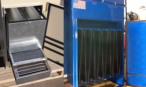 Oil / Mist collectors filtration options